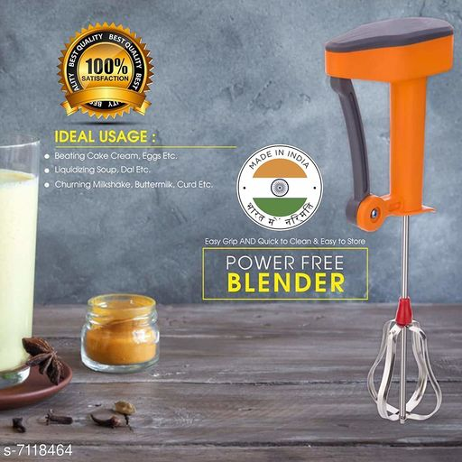 Pressers, mashers & whisks Trendy plastic  hand blender Trendy plastic  hand blender  *Sizes Available* Free Size *    Catalog Name: Check out this trending catalog CatalogID_1136308 C135-SC1659 Code: 302-7118464-