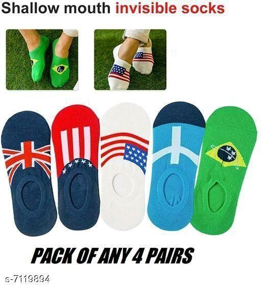 Stylish Unisex Multipack Multicolor Socks