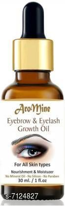 Eye Care Vedlekha 100% Pure Eyebrow & Eyelash Growth Oil 30 ml (BROWN)  *Product Name* Vedlekha 100% Pure Eyebrow & Eyelash Growth Oil 30 ml (BROWN)  *Type* Eye Serum  *Capacity* 30 ml  *Multipack* Pack of 1  *Sizes Available* Free Size *    Catalog Name:  AroMine Eyebrow Growth & Care Oil 100% Natural for Beautiful & Thick Eyebrows 30 ml ((green, black) CatalogID_1137397 C126-SC1575 Code: 002-7124827-