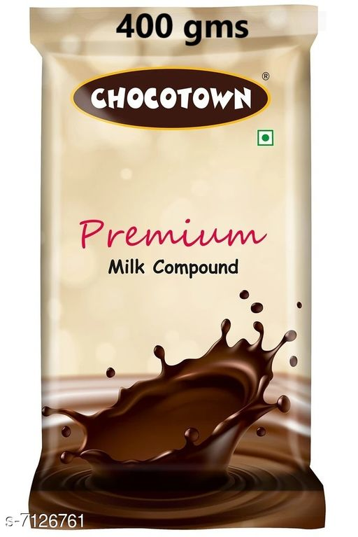 Biscuits & bakery Milk Chocolate Compound(400gms) Milk Chocolate Compound(400gms)  *Sizes Available* Free Size *   Catalog Rating: ★3.6 (10)  Catalog Name: Check out this trending catalog CatalogID_1137702 C89-SC1775 Code: 916-7126761-