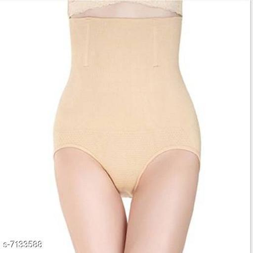Trendy Cotton Spendex Tummy Tucker-Beige