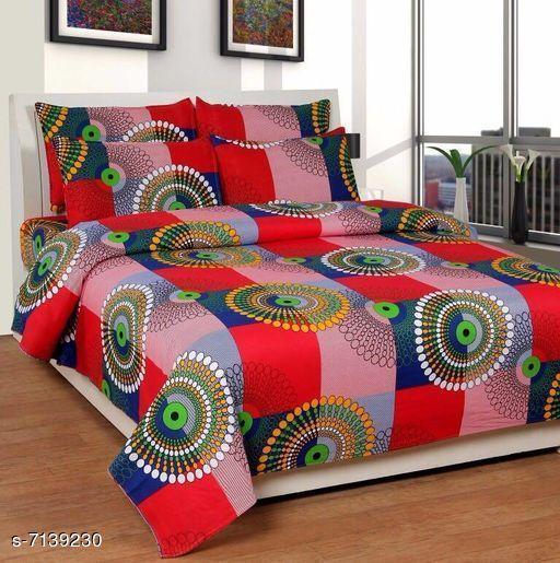 Trendy Cotton 90 X 90 Single Bedsheet