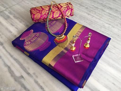 Stylish Tussar Silk Women's Saree