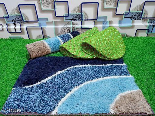 Doormats & Bath Mats Stylish Modern Doormats  *Material* Cotton  *Multipack* Pack of 4  *Rectangular Doormats Sizes*   *Free Size (Length Size* 60 cm, Width Size  *Oval Doormats Sizes*   *Free Size (Length Size* 53 cm, Width Size  *Description* It has 2 Rectangular Doormats and 2 Oval Doormats  *Sizes Available* Free Size *   Catalog Rating: ★3.6 (18)  Catalog Name: Free Mask Stylish Modern Doormats CatalogID_1140405 C55-SC1118 Code: 403-7143295-