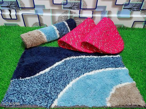 Doormats & Bath Mats Stylish Modern Doormats  *Material* Cotton  *Multipack* Pack of 4  *Rectangular Doormats Sizes*   *Free Size (Length Size* 60 cm, Width Size  *Oval Doormats Sizes*   *Free Size (Length Size* 53 cm, Width Size  *Description* It has 2 Rectangular Doormats and 2 Oval Doormats  *Sizes Available* Free Size *   Catalog Rating: ★3.6 (18)  Catalog Name: Free Mask Stylish Modern Doormats CatalogID_1140405 C55-SC1118 Code: 403-7143298-