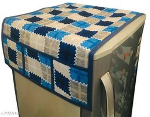 Trendy Cotton Fridge Cover
