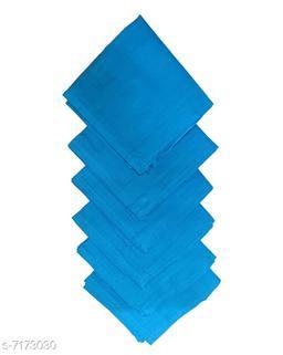 Men's Cotton Hankerchief Full Size 24*24