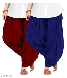 Trendy Pure Cotton Patiala Salwar