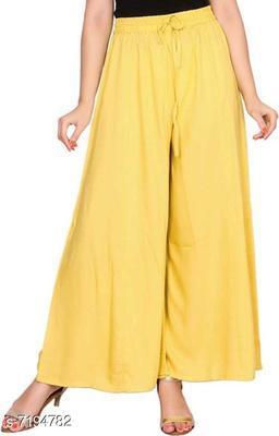 Rayon Blend Trouser