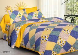 Flower print bedsheet