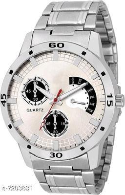 Avio Steel Professional Rich Look Designer Analog Watch