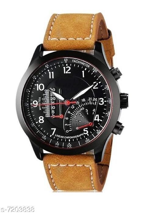 VM-019 Professional Rich Look Designer Analog Watch