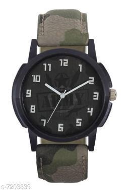 Green Army Professional Rich Look Designer Analog Watch