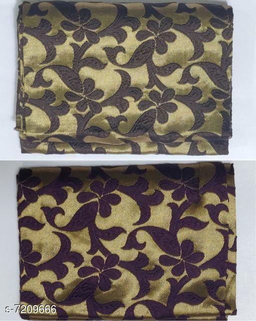 Blouse Piece Stylish Jacquard Blouse   *Fabric* Jacquard  *Multipack* 2  *Sizes* (Blouse Length Free Size  *Sizes Available* Free Size *    Catalog Name: Chitrarekha Fashionable Women Blouses CatalogID_1151059 C74-SC1391 Code: 442-7209666-
