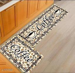 Stylish Printed Rubber Kitchen Mat