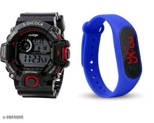 New designed stylish combo watch
