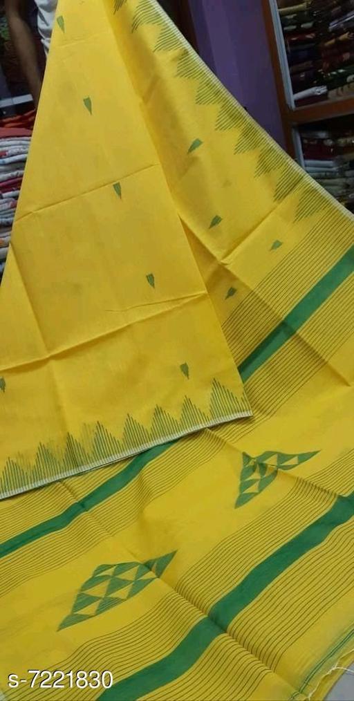 Stylish Khadi Cotton Saree