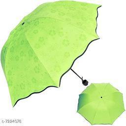 Beautiful Green Polyester Umbrellas