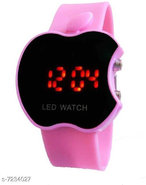 FARP Digital led watch girls watch kids watch pink colour