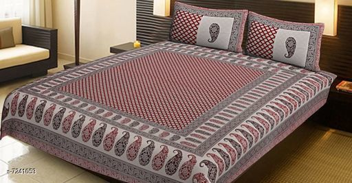Attractive bed sheet