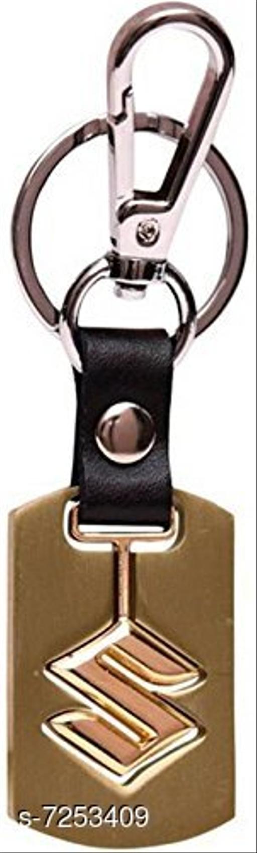 Advikavya Suzuki Golden Keychain