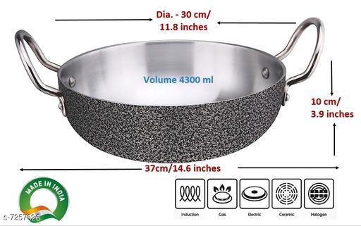 Aluminium Kadhai 30 cm