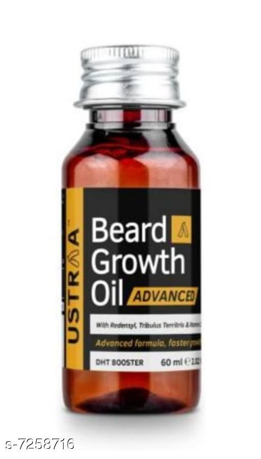 Hair Care Beard oil 100% Natural Hair Groth And Groth Boosting Hair Oil   *Product Name* Beard oil 100% Natural Hair Groth And Groth Boosting Hair Oil  *Multipack* 1  *Type* Beard oil Capacity-60 ML  *Sizes Available* Free Size *    Catalog Name:  Advanced Proctective Beard Oil & Wax CatalogID_1160414 C50-SC1249 Code: 034-7258716-