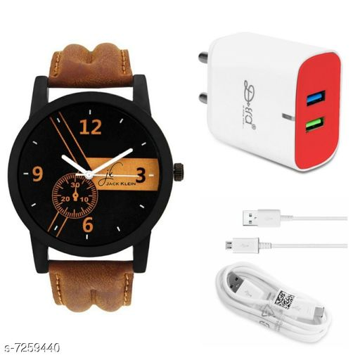 Combo Of Watch And Rapidly Mobile Charger