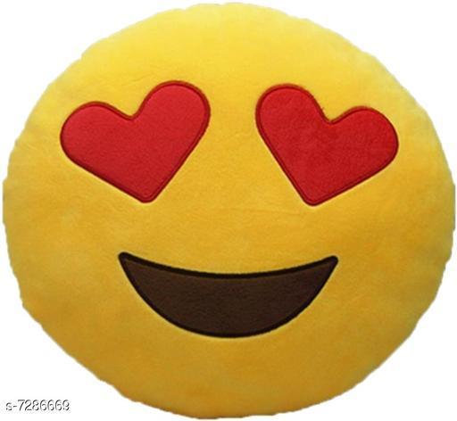 Cushions & Cushion Covers EMOJI SMILEY CUSHION  *Fabric* Feather  *Multipack* 1  *Sizes* Free Size  *Sizes Available* Free Size *    Catalog Name: Gorgeous Classy Cushion CatalogID_1165722 C117-SC1108 Code: 392-7286669-