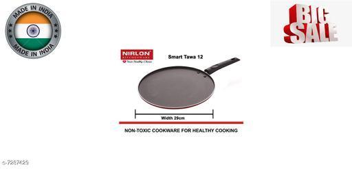 Nirlon Multi Smart 29cm Non-Stick Multi-Purpose Dosa, Roti And Chapati Tawa, Aluminium Nonstick
