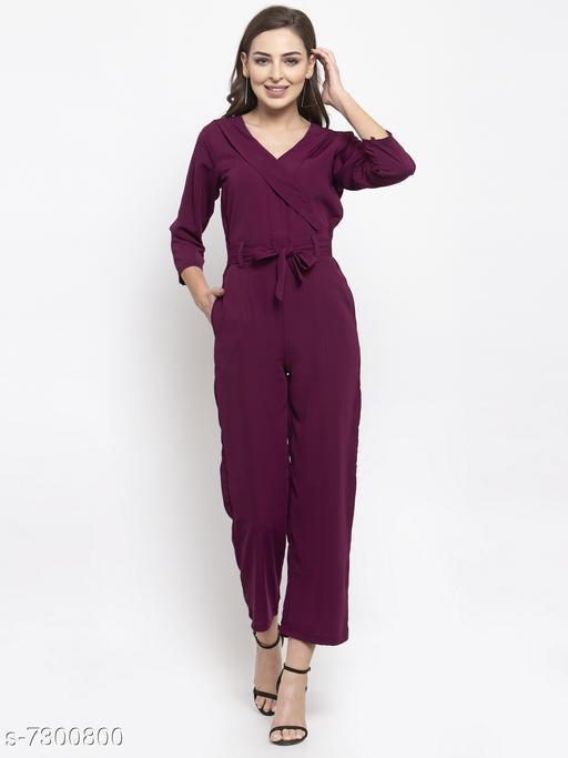 Jompers Purple Jumpsuit