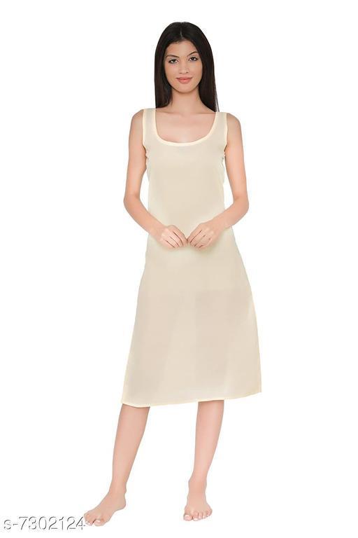 Women Cotton Slip/Camisoles FAWN