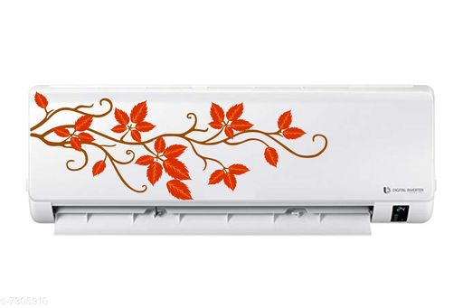 Decorative Stickers Decor hubb AC Sticker Fridge Sticker Wall Sticker Split Ac Stickers Air Conditioner Sticker Standard Size  *Material* Vinyl  *Pattern* Printed  *Pack* Pack of 1  *Product Length* 19 in  *Sizes Available* Free Size *    Catalog Name: Classic Decorative Stickers CatalogID_1169563 C127-SC1267 Code: 791-7305910-