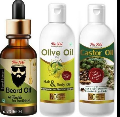 Hair Care  Beard Oil Multipack: 3 Size: Free Size Sizes Available: Free Size *Proof of Safe Delivery! Click to know on Safety Standards of Delivery Partners- https://ltl.sh/y_nZrAV3   Catalog Name: Free Mask Proffesional Intensive Beard Oil & Wax CatalogID_1171516 C50-SC1249 Code: 694-7315504-