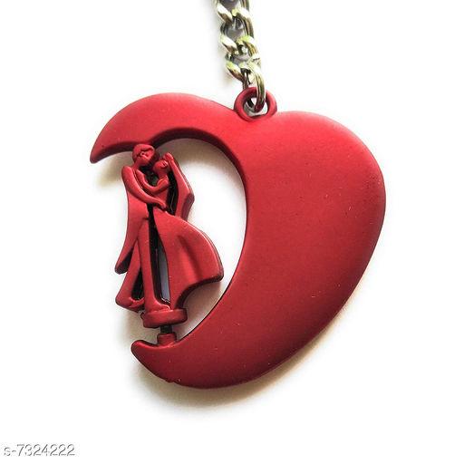 VALENTINE SPECIAL Couple Key chain Reddish Colour Key Chain