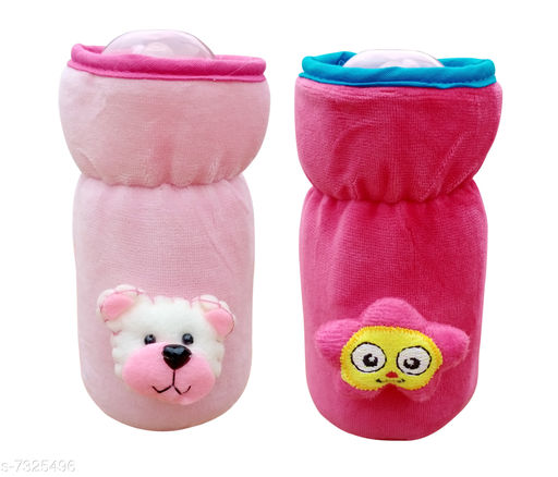 Baby Wellness Bottle Cover for Feeders Soft Plush Stretchable Baby Feeding Bottle Cover with Easy to Hold Strap(Pack of 2)  *Product Name* Bottle Cover for Feeders Soft Plush Stretchable Baby Feeding Bottle Cover with Easy to Hold Strap(Pack of 2)  *Material* Cotton  *Type* Bottle  *Ideal For* Kids  *Age Group* 0 Month to 6 Months  *Sizes* Size( Length Size  *Description* It Has 2 Pieces Of Baby Bottle Covers  *Capacity* 120 ml  *Work* Printed  *Sizes Available* Free Size *    Catalog Name:  Baby Bottle Cover Product Vol 038 CatalogID_1173440 C51-SC1666 Code: 423-7325496-