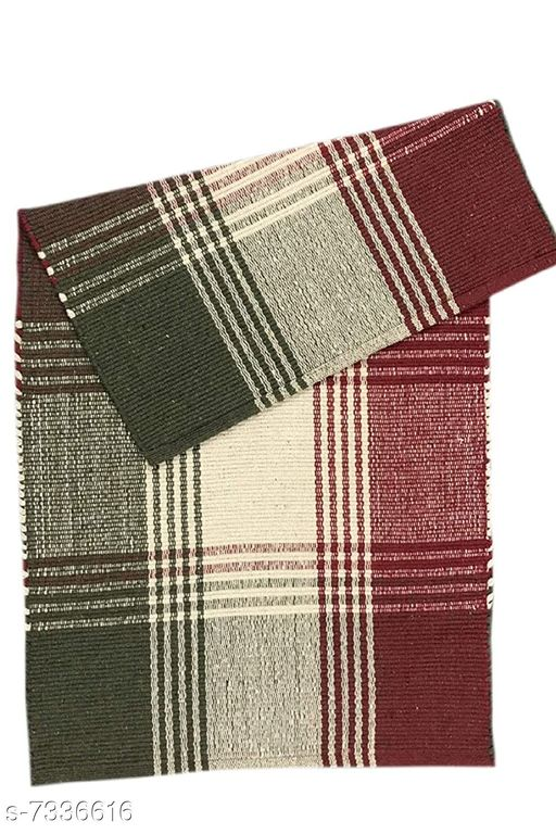 Carpets & Dhurries Stylish Carpets  *Material* Cotton  *Multipack* 1  *Sizes*   *Free Size (Length Size* 27 cm, Width Size  *Sizes Available* Free Size *    Catalog Name: Stylish Carpets CatalogID_1175699 C55-SC1119 Code: 526-7336616-