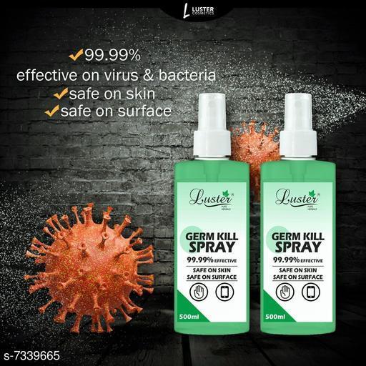 Luster Germ Kill Spray, Kills 99.99% Germs - 500ml (Pack of 2)