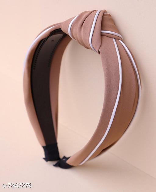Beautiful Women's Peach Hair Bands