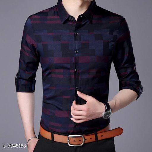 Men's Printed Full Sleeves Shirt