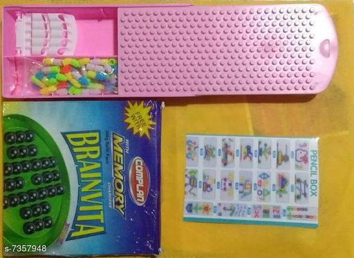 Educational Toys pensil box pensil box  *Sizes Available* Free Size *    Catalog Name: Check out this trending catalog CatalogID_1179960 C86-SC1293 Code: 492-7357948-