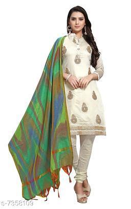 Tulip Prints Women's Cotton Green Leheriya Dupatta With Jhalar