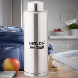Nirlon Stainless Steel Freezer Bottle 1000ml - Lagoon