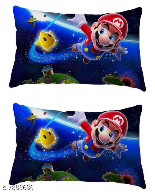 Trendy Cartoon Design Pillow