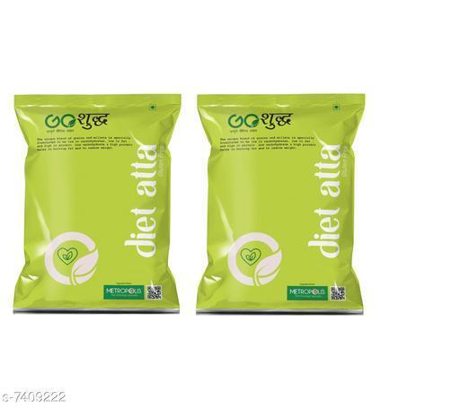 Atta Diet Atta/Flour 500GM & Diet Atta/Flour 1KG  *Product Name* Diet Atta/Flour 500GM & Diet Atta/Flour 1KG  *Type* Atta & Flour  *Multipack* 2  *Quantity* Diet Atta - 500 gm + Diet Atta -1000 gm  *Sizes Available* Free Size *    Catalog Name: Special Diet Atta & Flour CatalogID_1189984 C89-SC1772 Code: 813-7409222-425
