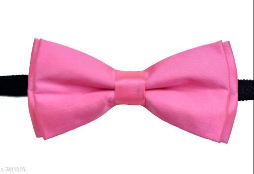 Plain sain double bow