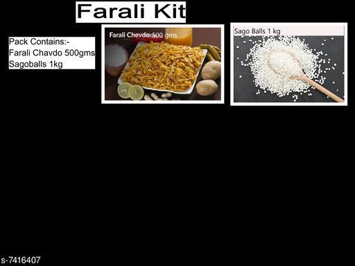 Chips & Namkeen Farali Kit Farali Kit  *Sizes Available* Free Size *    Catalog Name: Check out this trending catalog CatalogID_1191350 C89-SC1776 Code: 417-7416407-