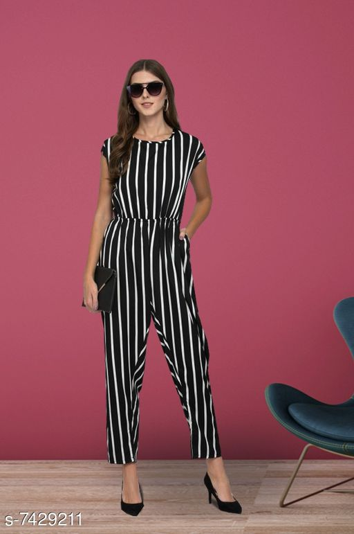 THE BEBO PURE AMERICAN CREPE JUMP SUITS