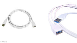 Stylish USB 3.0 High Speed Extension Cable 1.5M