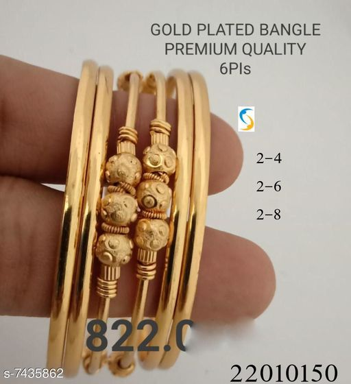 New Design Gold Plated Bangle